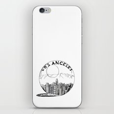 Los Angeles in a glass ball iPhone & iPod Skin