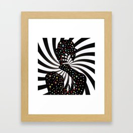 Mystical night Framed Art Print