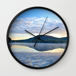 Know and Remember:  Reflections on Lake George Wall Clock