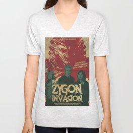 "Doctor Who ""The Zygon Invasion"" Unisex V-Neck"