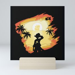 The Pirate King Mini Art Print