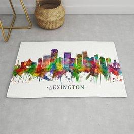 Lexington Kentucky Skyline Rug