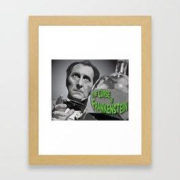 """Victor"" Framed Art Print"