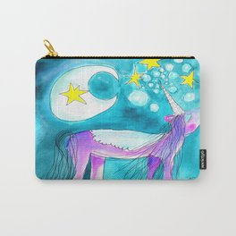 Moon Unicorn Carry-All Pouch
