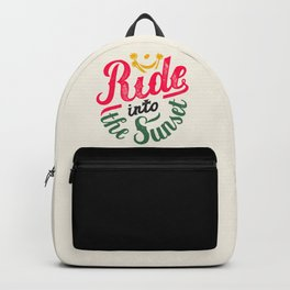 Ride into the Sunset Backpack