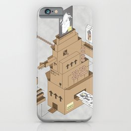 Boxes on Boxes iPhone Case