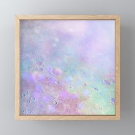Iridescent Moon Framed Mini Art Print