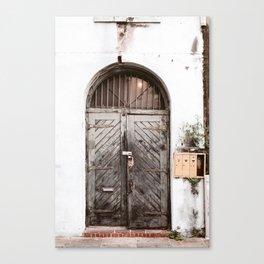 New Orleans Doorway Canvas Print