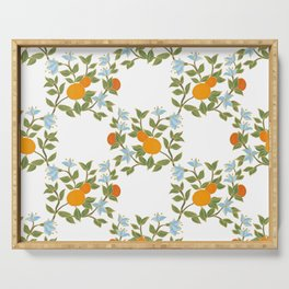 Andalusian oranges Serving Tray