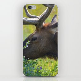 Elk like flowers too iPhone Skin