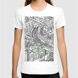 The Town of Train 2 T-shirt