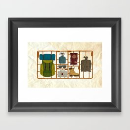 Camping Kit Framed Art Print