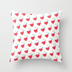 heart hearts Throw Pillow