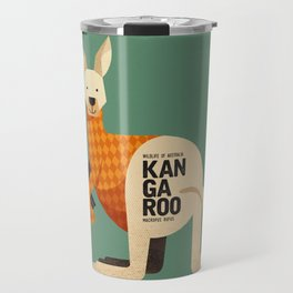 Hello Kangaroo Travel Mug