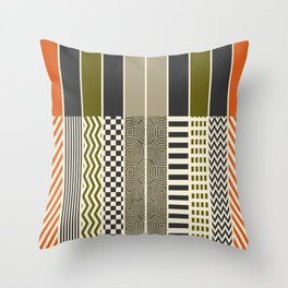 Patterns - Color Throw Pillow