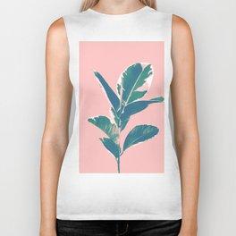 Ficus Elastica Finesse #3 #tropical #foliage #decor #art #society6 Biker Tank