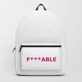 F***able Backpack