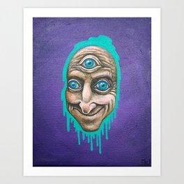 Marty Art Print