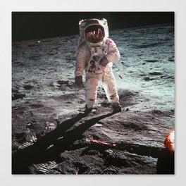 Moon landing 4 Canvas Print