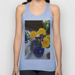 Delicate Yellow Unisex Tank Top