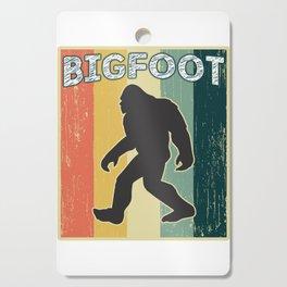 Vintage Retro Old School Big Foot Cutting Board