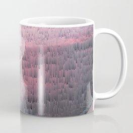Glitches at Sunset Coffee Mug