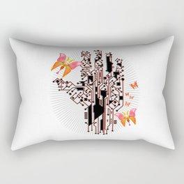 Electric Spring Rectangular Pillow