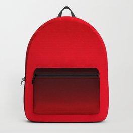 Red Ombré Block Design Backpack