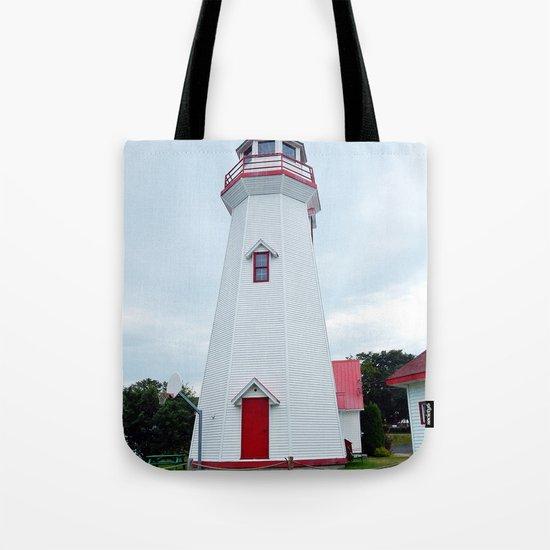 Campbelton Lighthouse Tote Bag