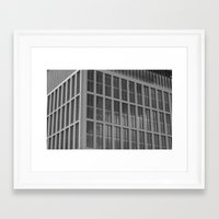 manchester Framed Art Prints featuring manchester by Mylo Photography