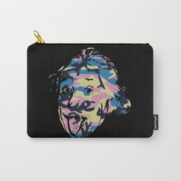 Famous people in disguise art print Carry-All Pouch