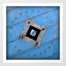 Industrial Blues Art Print