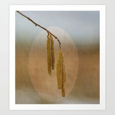 It becomes spring.... Art Print