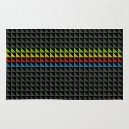 Four Tone Triangles Rug