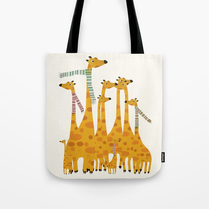 giraffe do disco Tote Bag