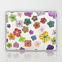 Floral art mille fiori Laptop & iPad Skin