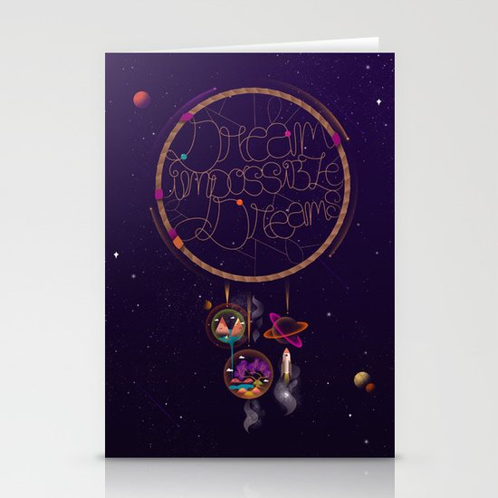 Dream Impossible Dreams Stationery Cards
