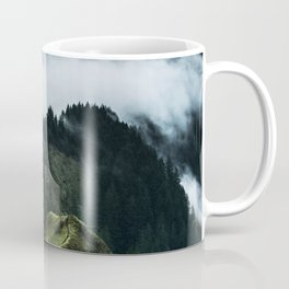 Foggy mountains Coffee Mug