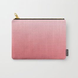 Ombre fade pastel trendy color way throwback retro palette 80s 90s style Carry-All Pouch