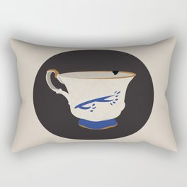 The Chipped Cup Rectangular Pillow