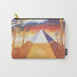 The Cydonia pyramid by the time there was life on Mars Carry-All Pouch