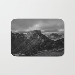 Top of Lost Mine Trail Mountaintop View, Big Bend - Landscape Photography Bath Mat