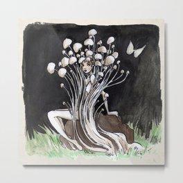 Empire of Mushrooms: Flammulina Velutipes Metal Print