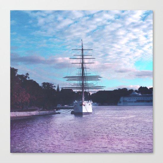 El Barco Canvas Print