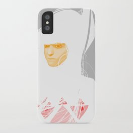 Untitled digital drawing 03 iPhone Case