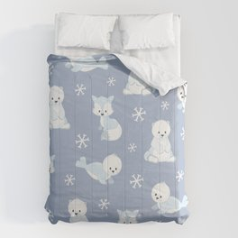 ARCTIC FRIENDS (blue) Comforters