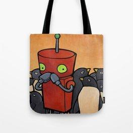 Robot - You Make Me Laugh Tote Bag