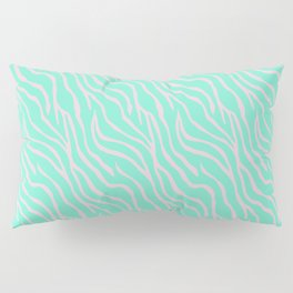 Green zebra Pillow Sham
