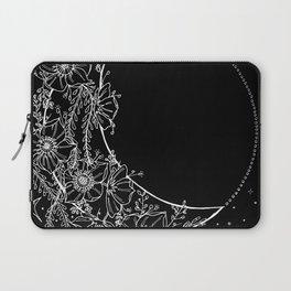 The Flower Moon; Crescent Moon; Feathers; Dream Catcher; Chalk Art Laptop Sleeve