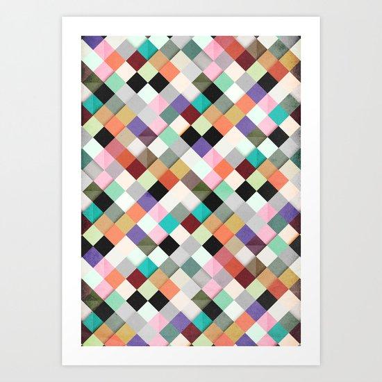 Pass this Pastels Art Print